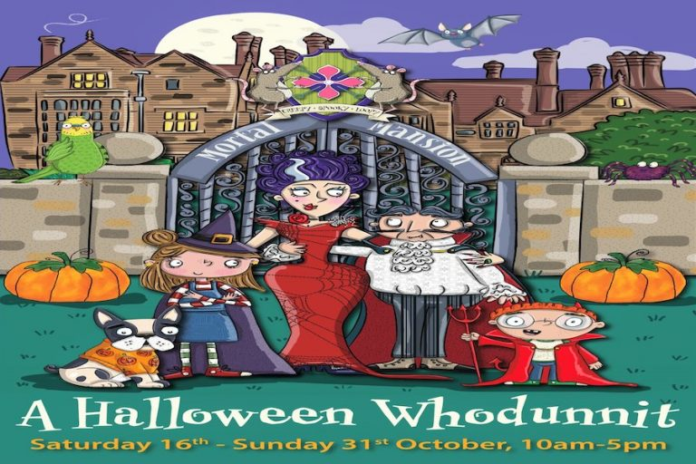 A Halloween Whodunnit Spooktacular at Borde Hill