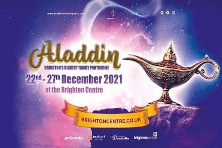 Aladdin at Brighton Centre