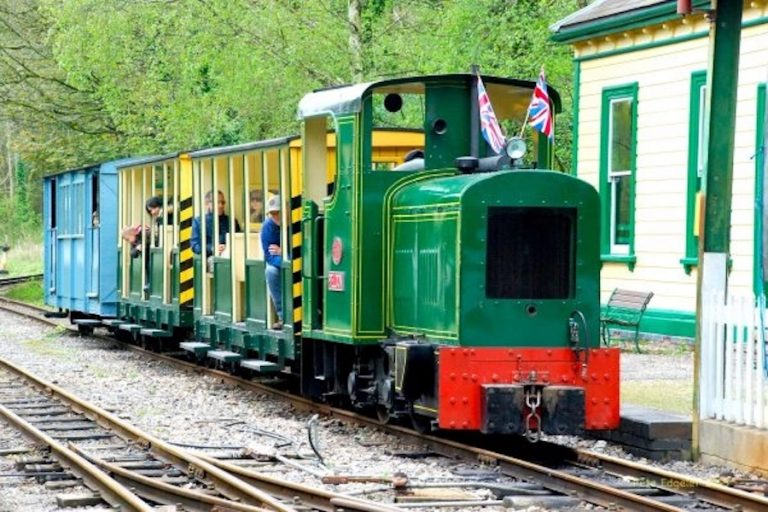 Autumn Industrial Trains Day at Amberley Museum