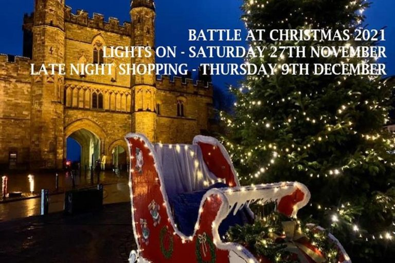 Battle Christmas Lights Switch On 2021