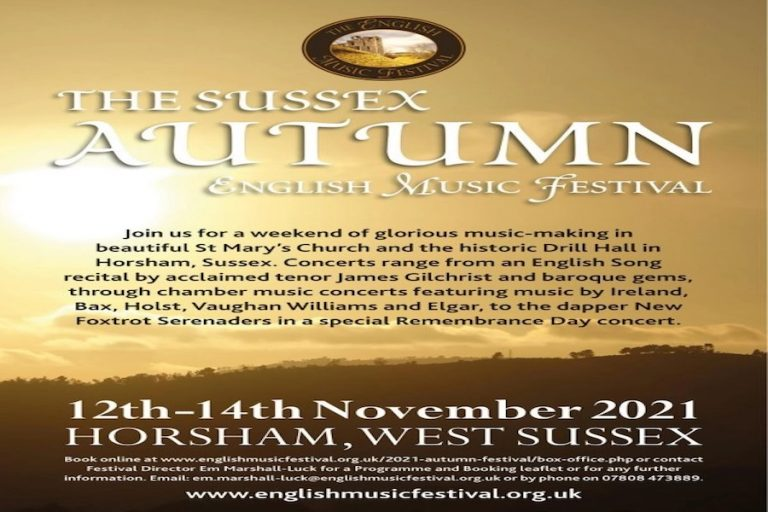 English Music Festival Autumn Concerts