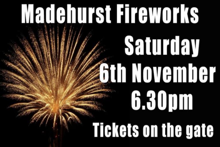 Madehurst Fireworks at Madehurst Cricket Club