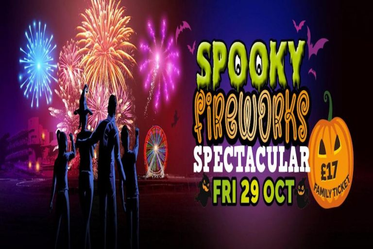 Spooky Fireworks Spectacular at Fontwell Park Racecourse