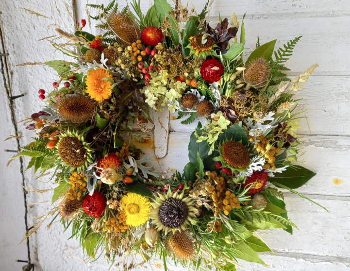 Autumn Halloween Wreath Making Workshop
