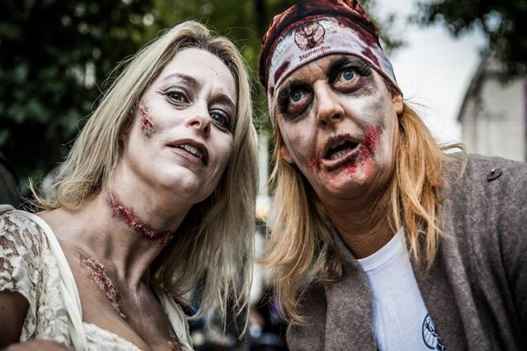 Zombie Walk in Eastbourne